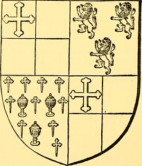 "Image from page 253 of ""Pedigrees recorded at the visitations of the county palatine of Durham made by William Flower, Norroy king-of-arms, in 1575, by Richard St. George, Norroy king-of-arms, in 1615, and by William Dugdale, Norroy king-of-arms, in 1666"""