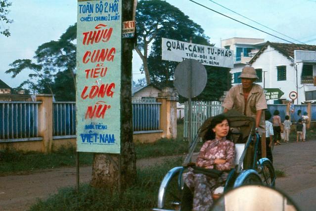 Saigon 1965 - QUÂN CẢNH TƯ PHÁP, cạnh ngã ba Chi Lăng-Ngô Tùng Châu (nay là ngã ba Phan Đăng Lưu-Nguyễn Văn Đậu)