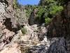Dans la montée de Lora avant les deux coudes et la 3ème cascade