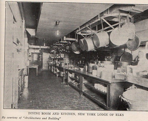 Elks Lodge No. 1, NYC, NY (Kitchen)