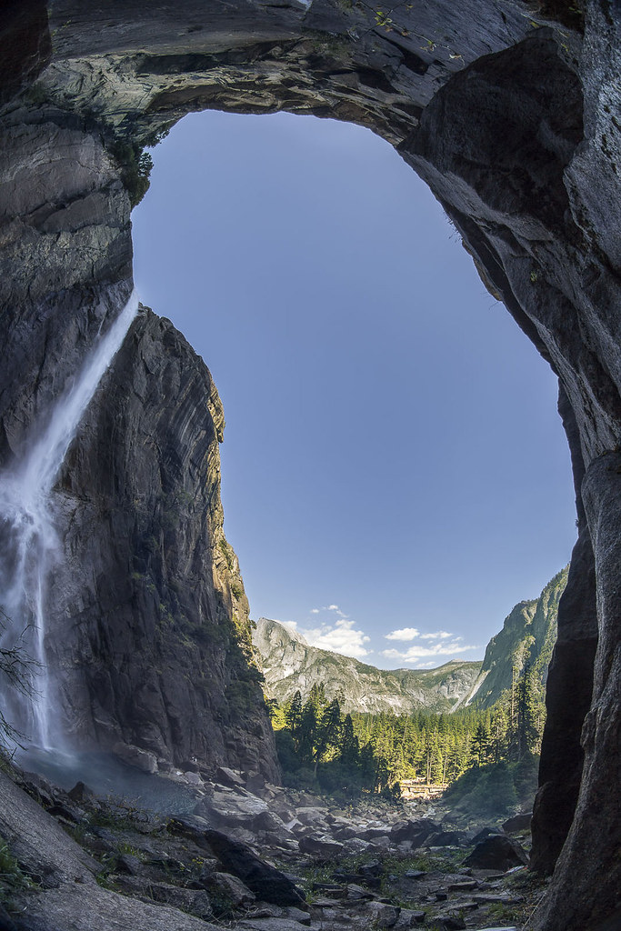 Yosemite Valley Waterfall