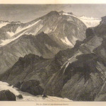 GC249 Thomas Moran; View in the Snowmass Group; 1876; Engraving - From The Graham and Barbara Curtis Collection