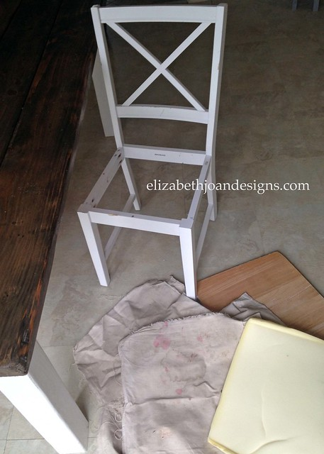 Dining Chair Makeover 6