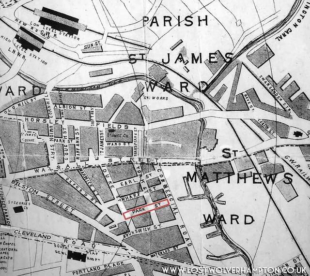 Park Street Map