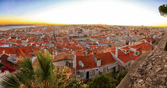 Lisboa Afternoon Panorama