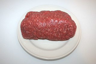 06 - Zutat Rinderhackfleisch / Ingredient beef ground meat