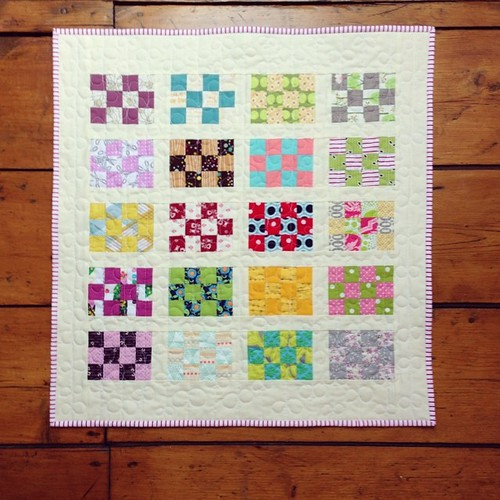 Packpatch Mini Quilt finished!! #packpatchminiqal