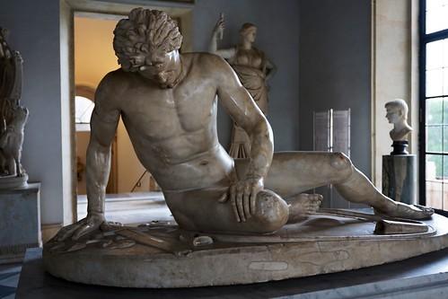Capitolinische Museen - sterbender Gallier