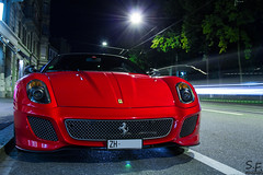 599 GTO by Night