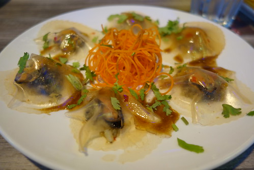 Prawn & Mussels Dumpling at Brussels Sprouts - Available only on 9 & 10 Aug 2014 (National Day Specials)