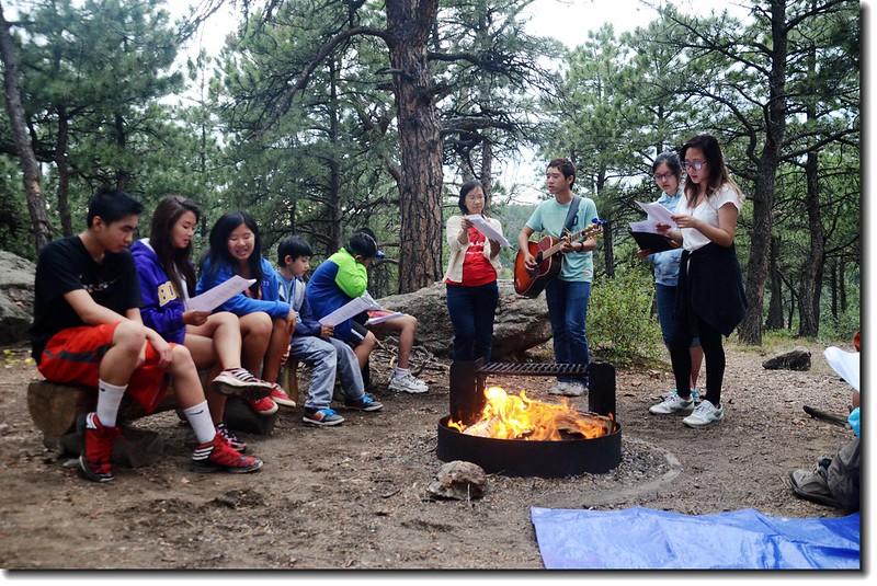 Campfire worship 3