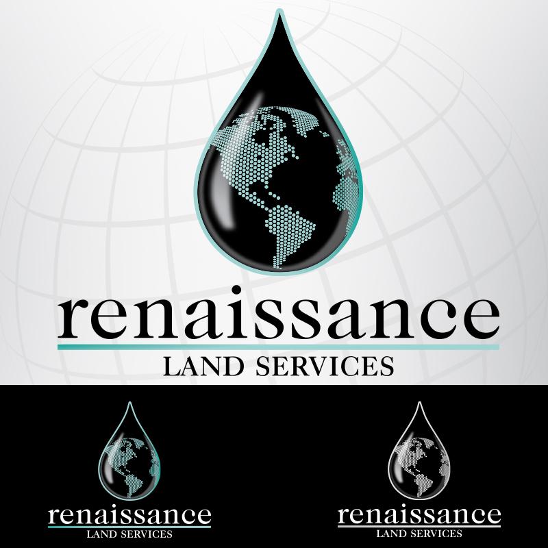Renaissance Land Service logóterv