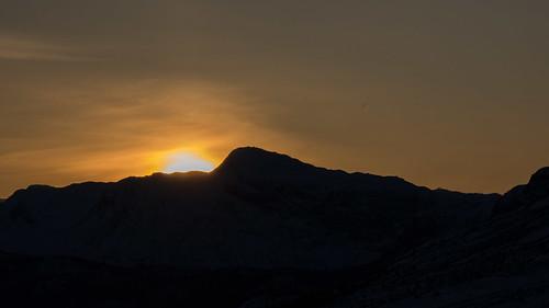 lowlight mountain norway sky sunset buskerud
