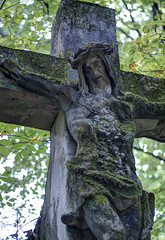 Forgotten chappel ruins in Maribor forest