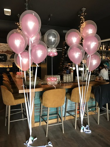 Tafeldecoratie 5ballonnen Gronddecoratie Barra Y Mas Spijkenisse