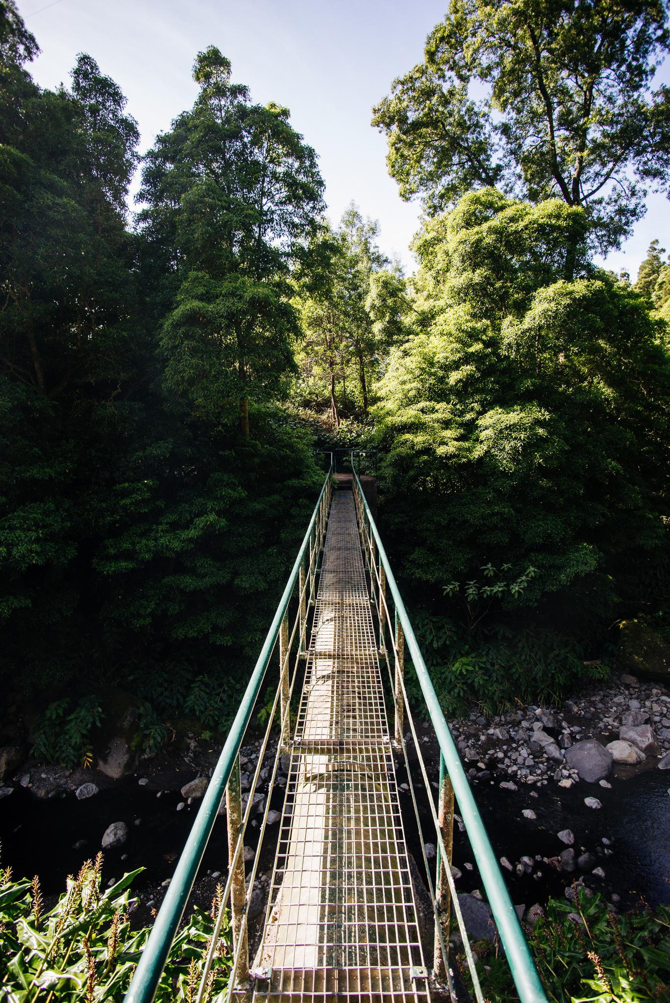 Salto de Cabrito fémszerkezetű hídjai.