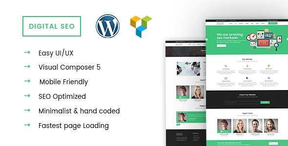 DigitalSEO WordPress Theme free download