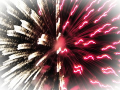 2015 Patoka Lake, Indiana, Fireworks with Olympus In-Camera Edits