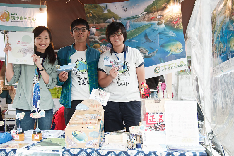 地球日市集精選50組綠色店家、10個NGO,讓民眾吃喝玩樂也能愛地球!