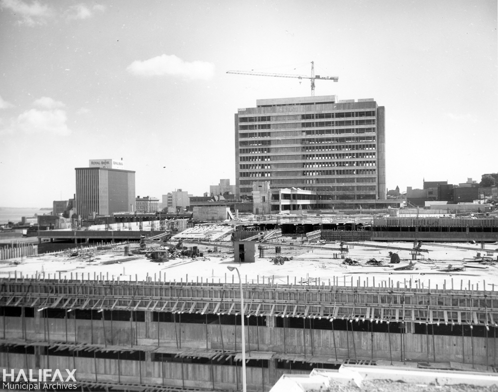 Scotia Square construction