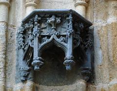 Quimper cathedral portals