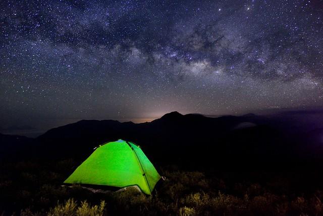 合歡山~銀河~  Milkyway
