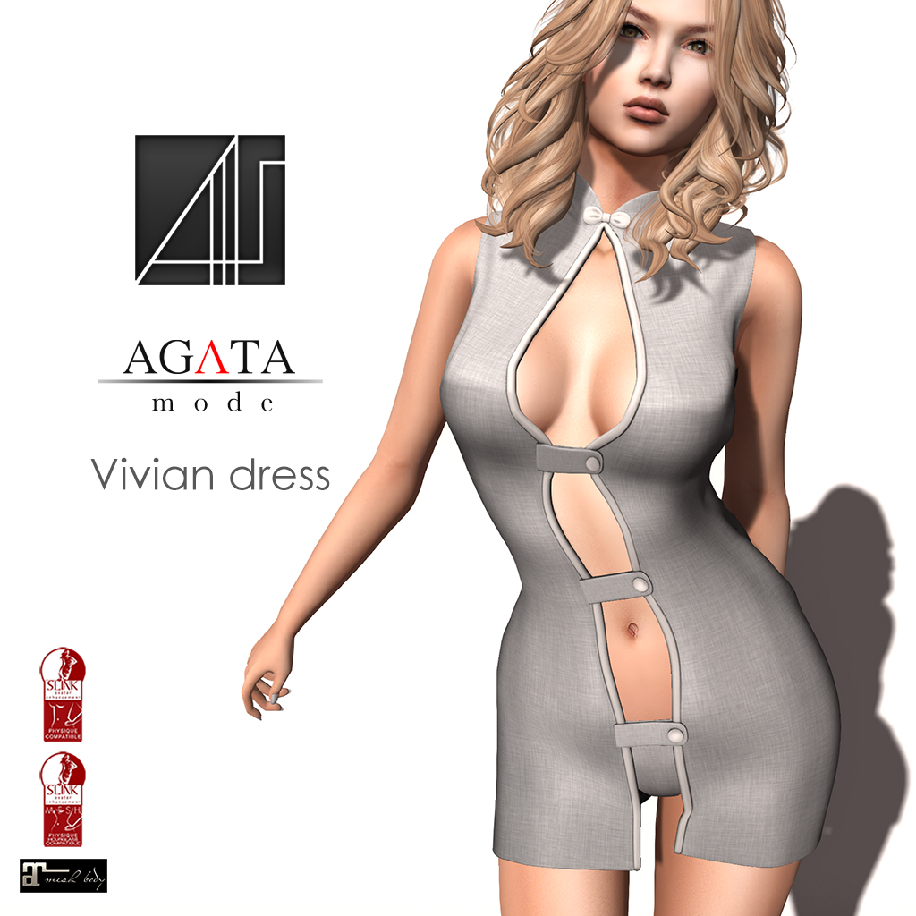 Vivian dress @ Shiny Shabby - SecondLifeHub.com