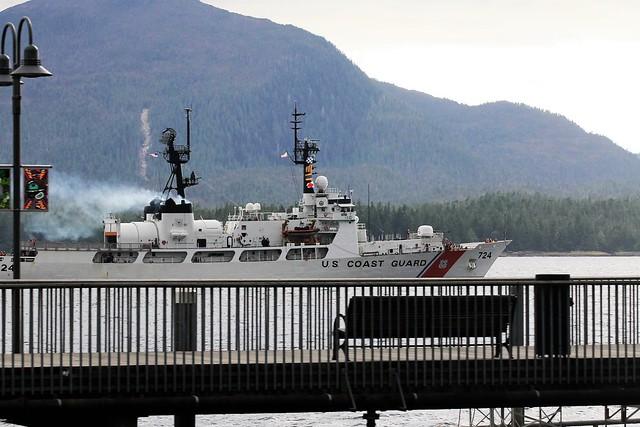 Ketchikan AK ~ Coast Guard boat