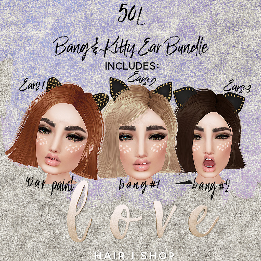 Love [Bang & Kitty Ear Bundle] - SecondLifeHub.com