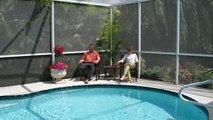 Seminole, Florida - walking with Dina & Jeff