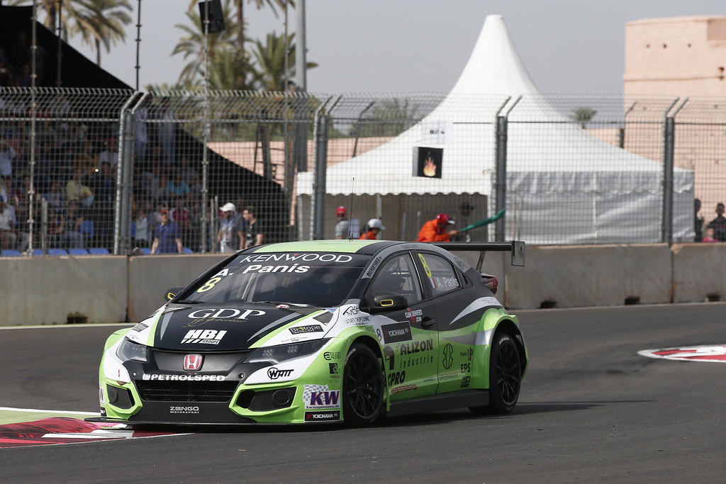08 PANIS Aurélien (fra) Honda Civic team Zengo Motorsport action during the 2017 FIA WTCC World Touring Car Race of Morocco at Marrakech, from April 7 to 9 - Photo Jean Michel Le Meur / DPPI.