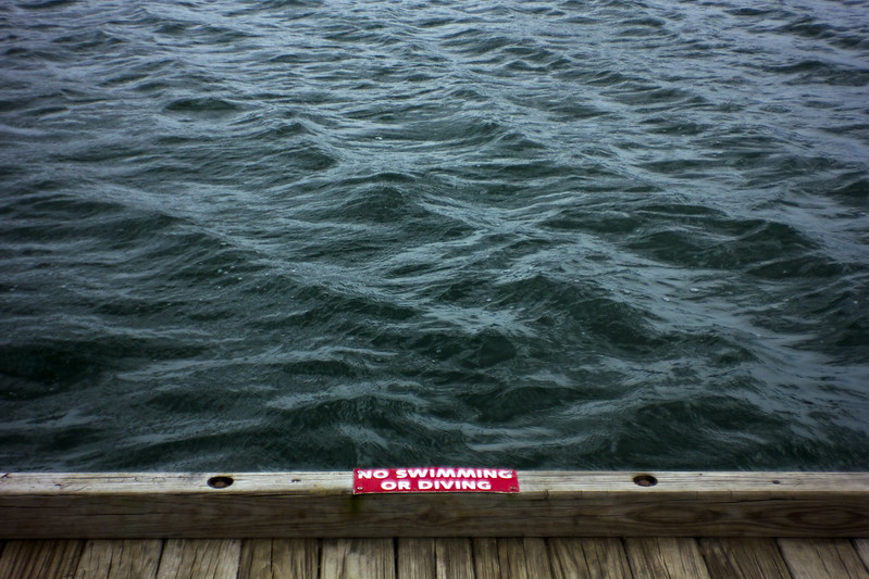 No Swimming or Diving