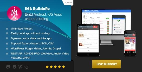 Ionic Mobile App Builder v17.02.01