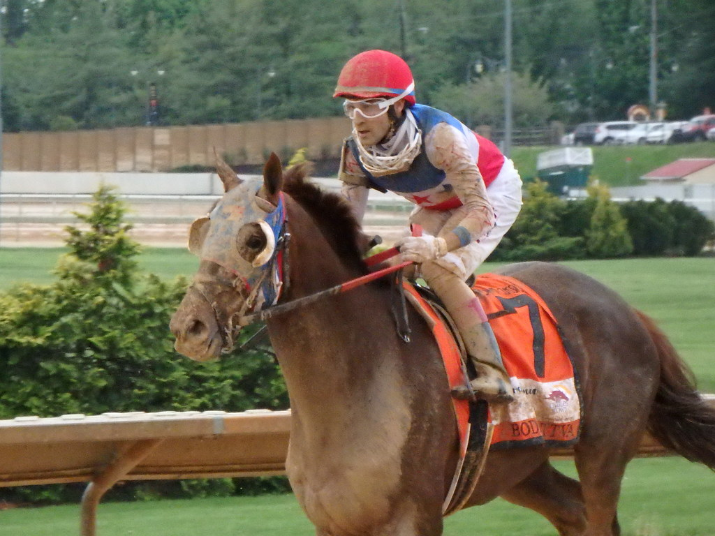 Xavier Perez and Bodhisattva finished fourth in the Charles Town Classic.