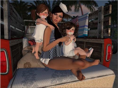 Payton, Riley & Lolita Oleander