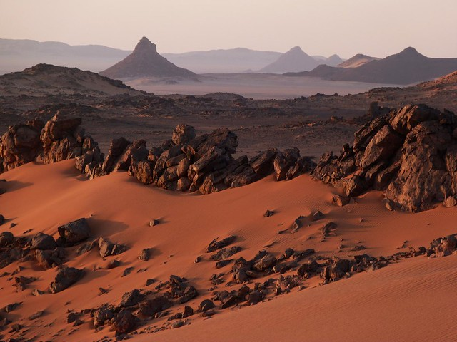 Desierto Líbico (cerca de Peter & Paul, Egipto)