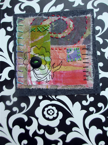 monoprint collage project