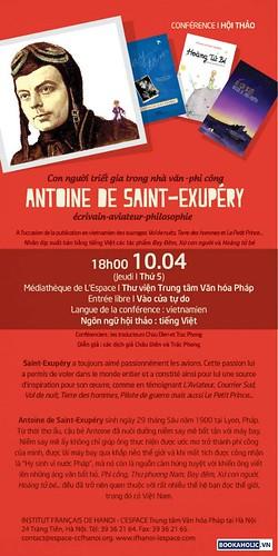 toa dam ve Antoine de Saint-Exupery hn