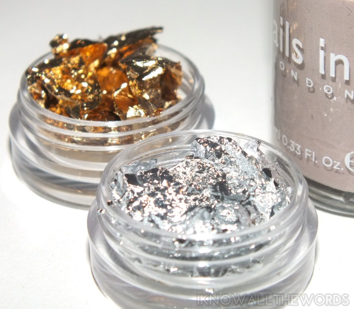 Born Pretty Store Gold and Silver Nail Art Foil (4)