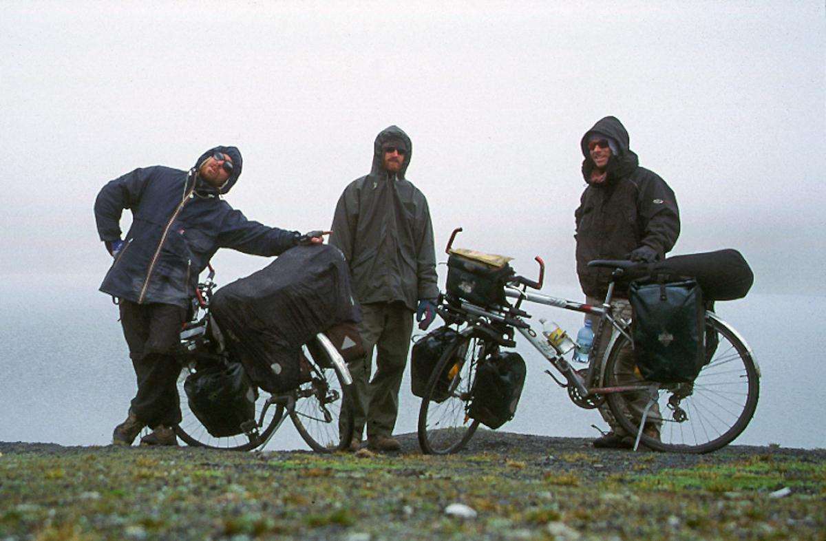 Tour du monde - le défi du retour - L'ascension des Monts Elbourz