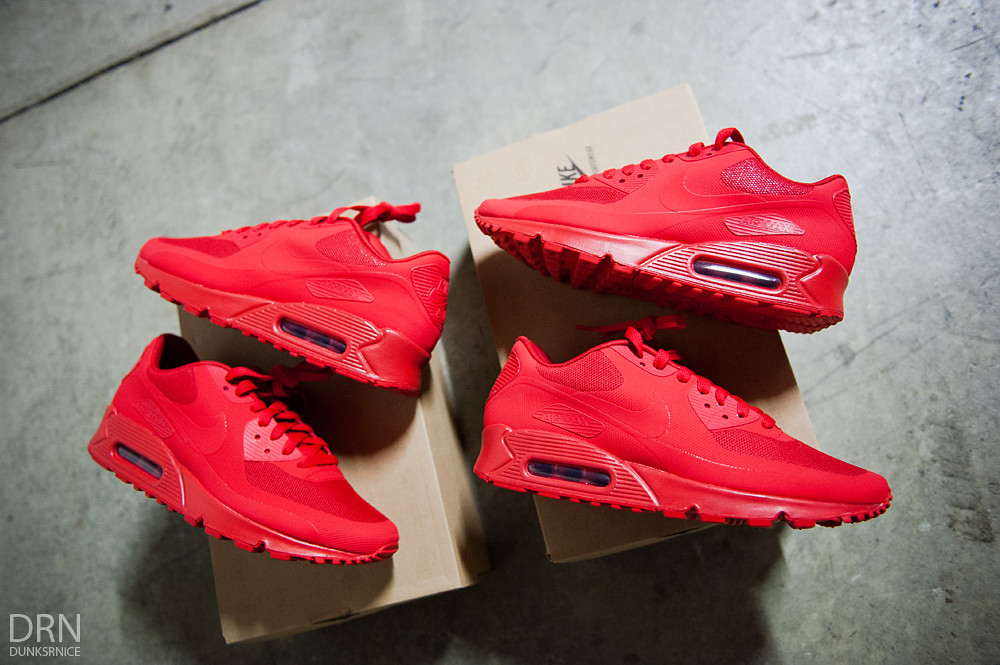 Air Max 90 Hyperfuse's.