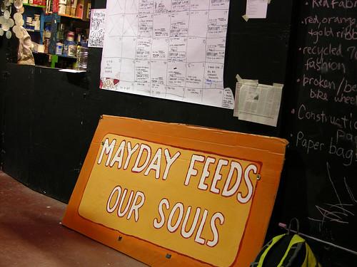 MayDay 2014 feeding the Solu