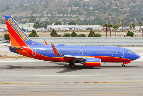 N962WN Southwest Airlines B737-700...