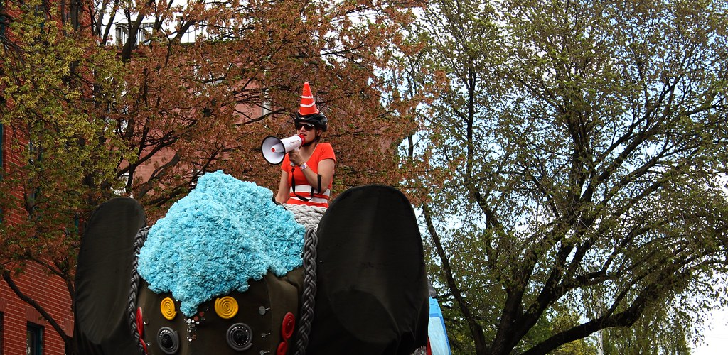 Kinetic Sculpture Race 2014