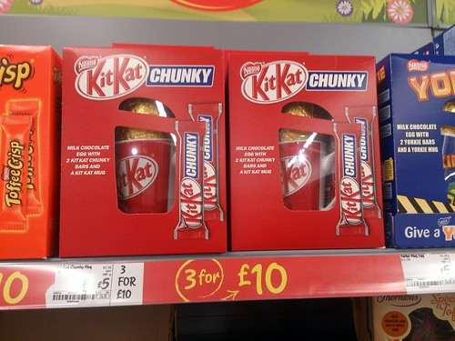 Kit Kat Chunky with mug Easter Egg (UK)