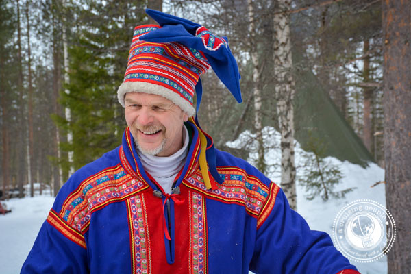 The Culture of Sami Reindeer Herding | Finnish Lapland Traditional Sami Reindeer Herder