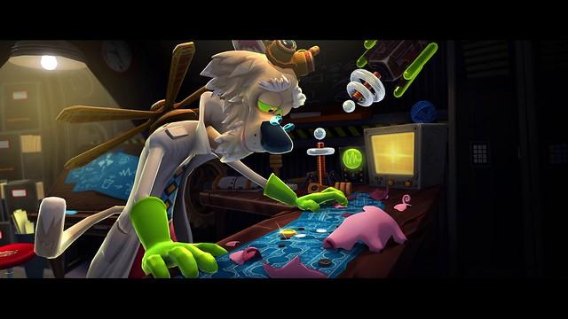Mousecraft on PS Vita