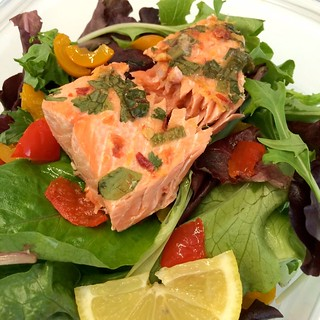 Sriracha-Grapefruit Salmon