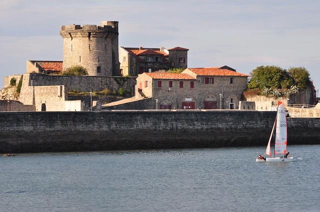 Fort de Socoa (XVIe, XVIIe siècles), Ciboure, Labourd, Pays basque, Pyrénées Atlantiques, Aquitaine, France.