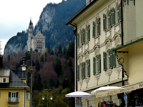 neuschwanstein seen from the village